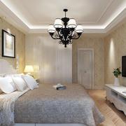三室两厅欧式简约风格卧室装修效果图