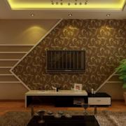 2016大户型欧式电视机背景墙装修效果图