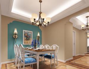70平米小户型地中海风格餐厅装修效果图