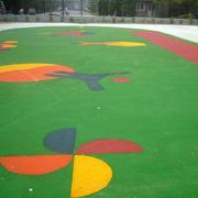 幼儿园操场橡胶装饰