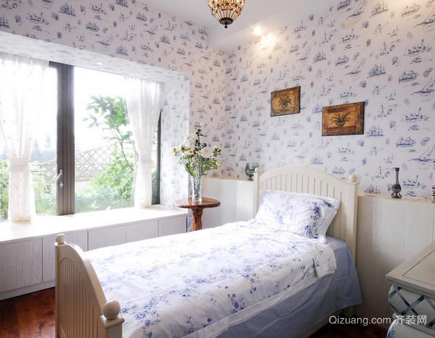 三室两厅韩式清新风格儿童房装修效果图