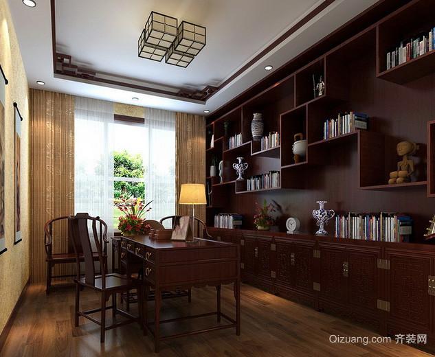 10平米小型书房设计装修效果图