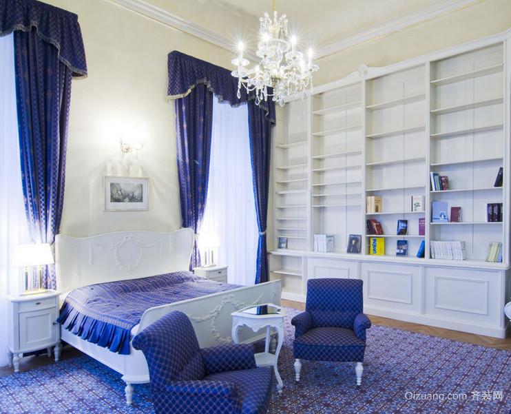 现代大户型地中海风格卧室装修效果图鉴赏