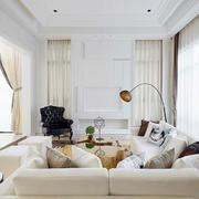 别墅明亮客厅装饰