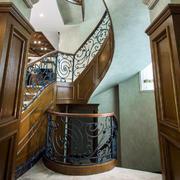 别墅精美典雅楼梯扶手