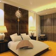 现代卧室灯光设计图