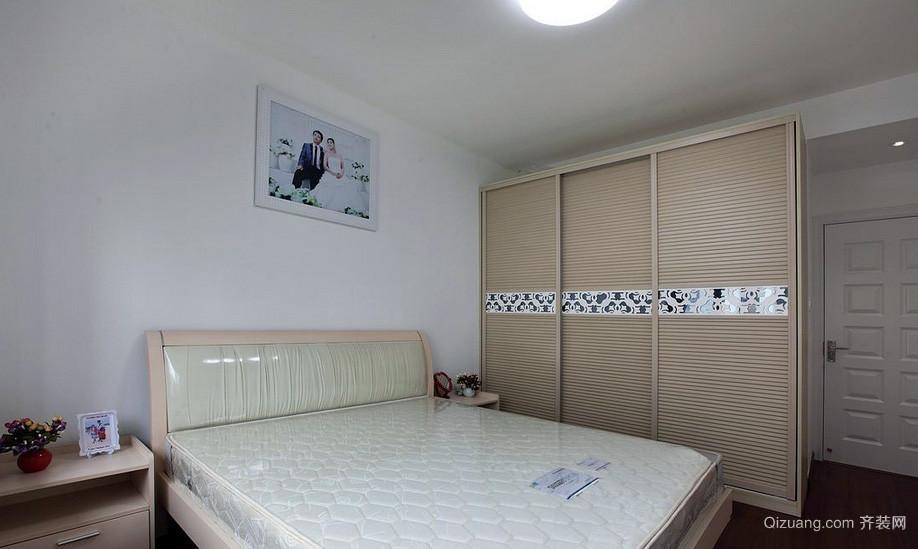 都市三室一厅卧室简易衣柜设计图