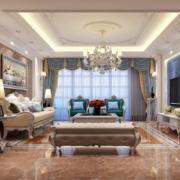 精致的大户型现代欧式客厅装修效果图鉴赏