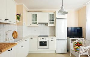 单身公寓简欧风格厨房装修效果图