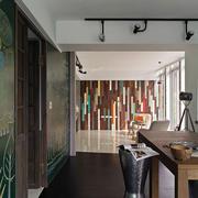 别墅书房墙面装饰