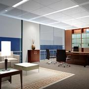 20平米后现代风格简约办公室装修效果图