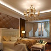2016现代欧式大户型卧室吊顶装修效果图鉴赏