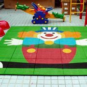 幼儿园娱乐场所橡胶装饰