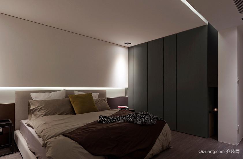 时尚简约120平米卧室简易衣柜设计图