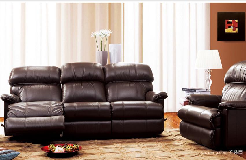 都市大户型复式楼客厅功能沙发装修图片