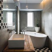 别墅小型卫生间图片