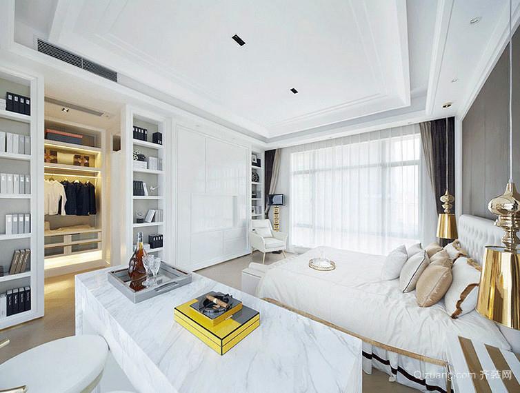 现代明亮二层别墅装潢设计效果图