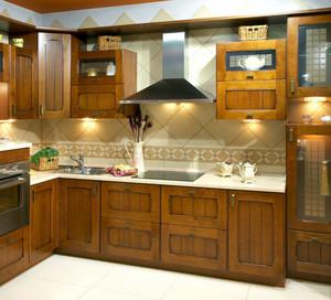 单身公寓实用型厨房装修效果图