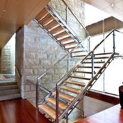 2016大户型扶梯装饰装修效果图欣赏