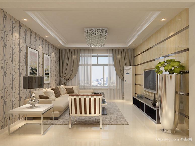 70平米小户型现代主义风格客厅装修效果图鉴赏