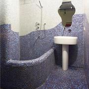别墅卫生间马赛克瓷砖