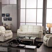 100平米客厅米白色功能沙发装修图片