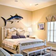 30平米地中海暖色系风格卧室装修效果图