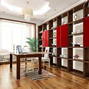 三居室简约风格书房设计装修效果图