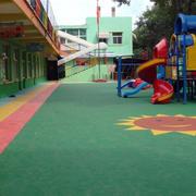 幼儿园过道橡胶装饰