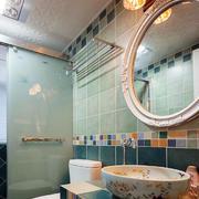 别墅卫生间瓷砖欣赏