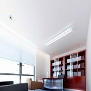 30平米中式简约风格办公室窗帘装修效果图