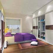 现代卧室衣柜设计图