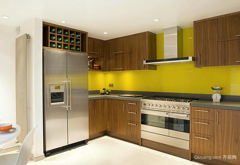 二居室田园风格厨房装修效果图