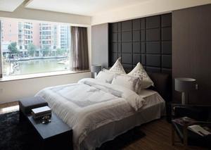 128平米精致卧室背景墙装修效果图