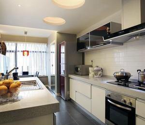 90平米现代大户型欧式厨房装修效果图鉴赏