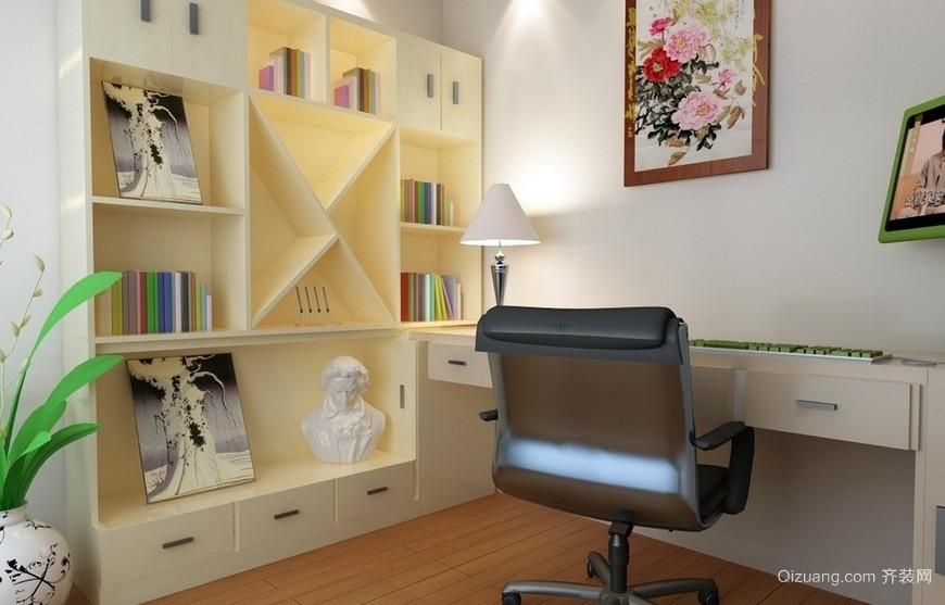 大户型时尚风格书房设计装修效果图