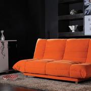 简约时尚60平米客厅功能沙发效果图片