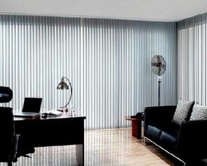 大型写字楼现代简约风格办公室窗帘装修效果图