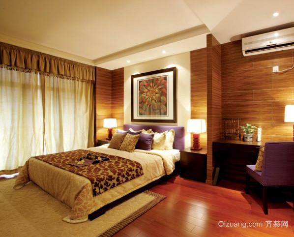 三室两厅东南亚风格卧室装修效果图
