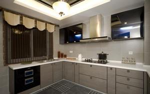朴素90平米单身公寓不锈钢橱柜效果图