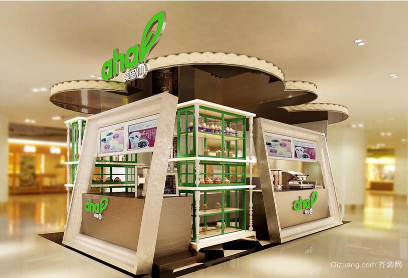 30平米个性创意蛋糕店装修设计效果图