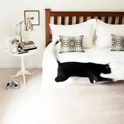 100平米房屋卧室床饰装饰