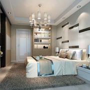 跃层新古典风格房间布置装修效果图
