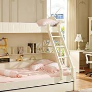 大户型精致儿童高低床效果图片