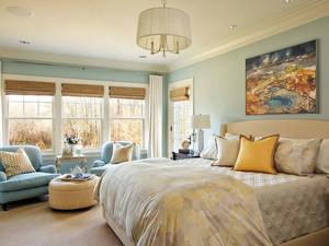 复式楼自然风格房间布置装修效果图