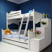 大户型宜家风格儿童高低床效果图片