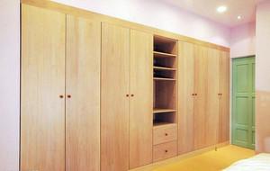 彩色靓丽三室一厅新房装修设计效果图