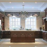 唯美的厨房吊顶设计图