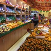 2016都市现代精美的水果店装修效果图鉴赏