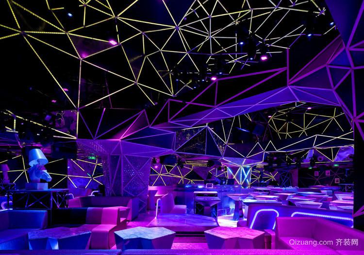 酷炫大型慈善晚会舞台灯光设计效果图